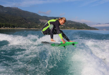 Initiation au Wake surf